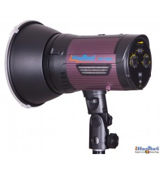 WF-300A - Studio Flash on Li-ion battery 2 Ah, stepless variable 300~9 Ws (Joule), LED 5W modelling lamp, Bowens-S adaptor