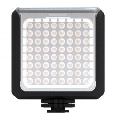 LEDC-5W - 5W LED Video & Foto cameralamp - 5500°K - 360 lx - Voor 4 AA batterijen