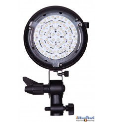 LEDS-1500B - 150W LED Video & Photo Studio Lamp (Bowens-S adaptor), 5500°K, 15000 lm, Digital