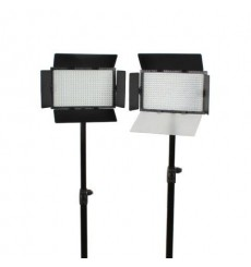 Falcon Eyes LED Lamp Set Dimbaar DV-384CT met Statief
