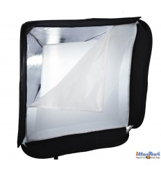 SBQS6060A152 - Softbox (Quick Setup) - 60x60cm - foldable - carry bag - illuStar