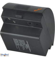WF6BAT - Batterie 12V - 6 Ah - Li-ion extra pour flash de studio WF-400A /WF-600A ou Nflash