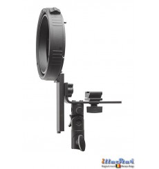 SLBCNEL - Speedlite Bracket type L with Canon/Nikon Hot-shoe for Elinchrom mount - illuStar