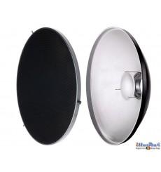 RBDHC30 - Beauty dish - Soft Reflector ø30cm with Honeycomb for SMD-serie & Mini & FS studio flash ø98~95mm