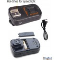 RTU16-HT - Extra transmitter - 2.4 Ghz 16-channels - with Hot-shoe