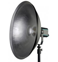 E056 - Beauty dish - Reflector Softlight - Silver ø700mm QZ-70 - elfo