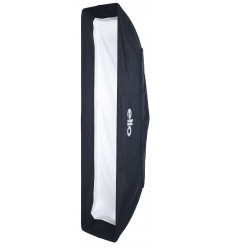 B003-A144 - Softbox 25x100cm - 360° rotating - foldable - carry bag - elfo