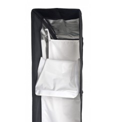 B003-A144 - Softbox 25x100cm - 360° rotating - foldable - carry bag