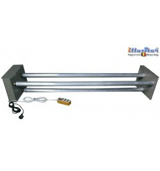 EB3TR - Electric Background support, 3 motorized aluminium background tubes ø50 mm length 3100 mm - with remote control - illuStar