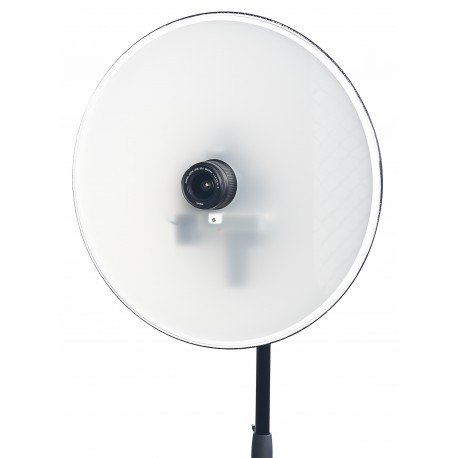 SKT03-ID - Softlight reflector with integrated flash 120Ws and  Canon DSLR camera, software for passport photo