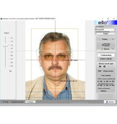 A142 - elFoto software for passport photo conform to ICAO norm