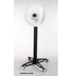 B100 - Stand with tilt function for SKT03 ID Photo System