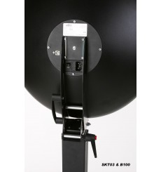 SKT03IDB100 - ID Photo System - Softlight reflector with integrated flash 120Ws and  Canon DSLR camera, software for passport ph
