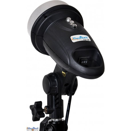 FM-120 - Mini Studio Flash, adjustable 120/60Ws, 34 leds modelling lamp