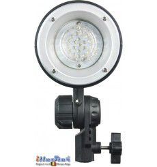 FM-120 - Mini Flash, adjustable 120/60Ws, 34 leds modelling lamp