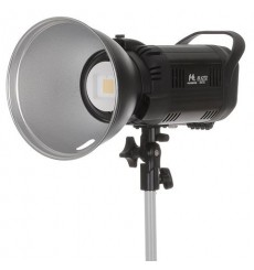 Falcon Eyes Bi-Color LED Lamp Dimmable BL-10TD on Battery