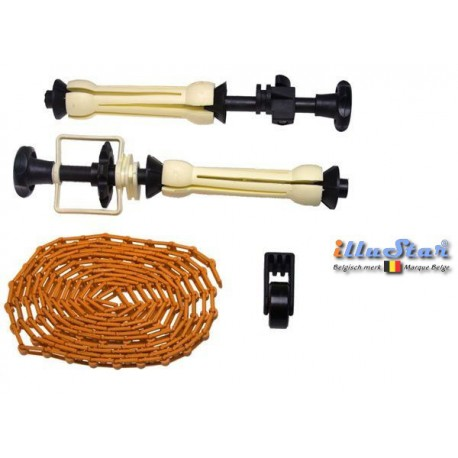 EXPAN - Background paper or backdrop holder, including chain & weight (1 pair)