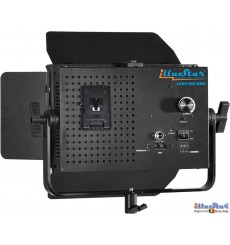 LEDP-900-DMX - Eclairage LED 55W de studio Vidéo & Photo, 5400°K, 6480 lm, DMX-512, Support de batterie V-Mount, DC 12V~24V
