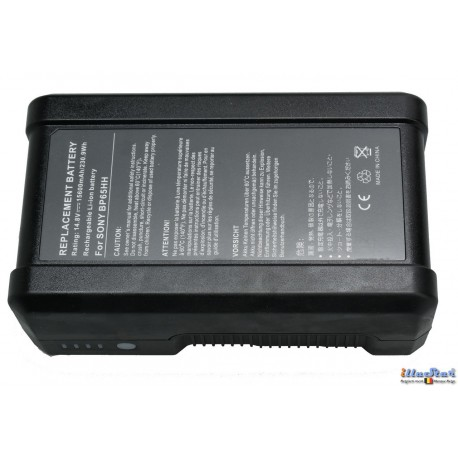 BAT-VM230 - V-Mount Li-ion battery 230 Wh 14,8V - 15,54 Ah - LEDP serie