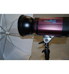 RSM-18 - Standard reflector ø18 cm - with hole for umbrella - for illustar FI & FS & LEDB & SM & KS series (Bowens-S adaptor)