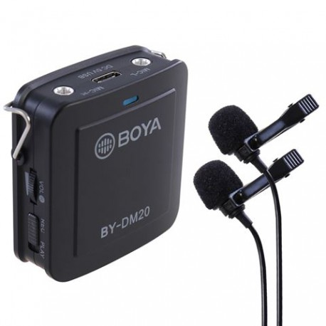 Boya Interview Kit BY-DM20 for iOS und Android