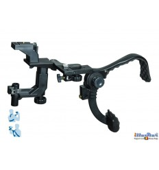 BL-H808 - DSLR / Videocamera (RIG) Shoulder stabilzer bracket - Suitable for placing on a light stand