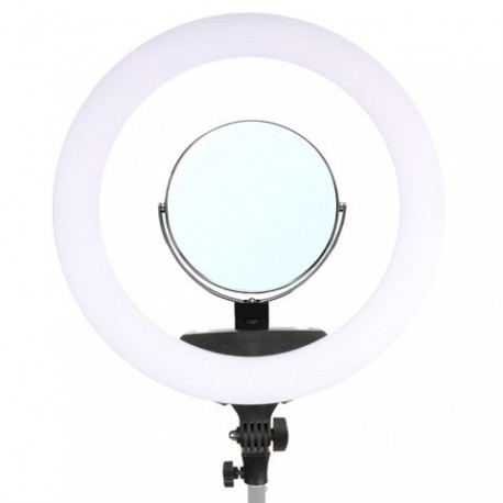 LED Ringlamp Set 65W LR-650