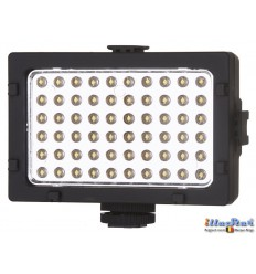 LEDC-6W - 6W LED Video & Photo on-Camera Light - 5500°K - 360 lm - Built-in Li-ion rechargeable battery - Standard Hot-Shoe