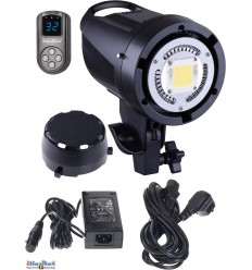 LEDB-500 - 50W LED Video & Photo Studio Lamp (Bowens-S adaptor), 5500°K, 6000 lm, Digital - illuStar