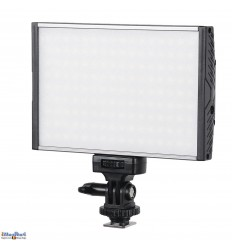 LEDC-15W - 15W LED Video & Photo on-Camera Light - Bi-Color - 1500 lm - For 7.4V Li-ion battery NP-F550/750/960  / DC 13-17V