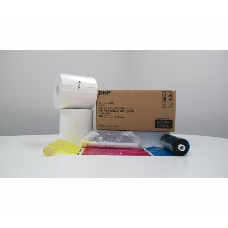 DNP 2 rolls of paper 10x15cm (1400 sheets) for DS-RX1