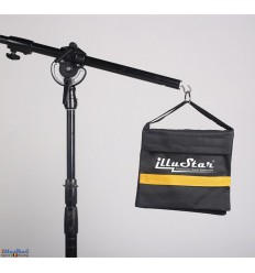 SANDBAG - Sand bag (empty) for Tripod and Light boom - Capacity 7,5 kg - illuStar