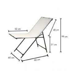 ST-60110 - Shooting table 60x110cm, foldable