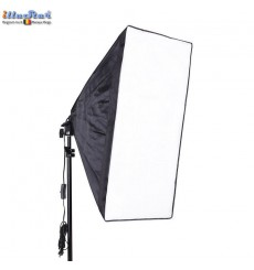 LH-SB-50 - Lamp Holder for E27 bulb with Easy Foldable Softbox 50x50cm
