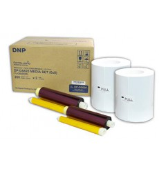 DNP 2 rolls of paper 15x20cm (400 sheets) for DS620