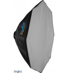 SB80 - Softbox ø80cm - Octagonal - foldable - carry bag - (Bowens-S adaptor) - illuStar