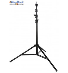 LS-280A - Light stand - air cushioned – 280~84cm - folded 84cm - base ø108cm, tube ø22cm - 4 sections ø29,5/26/22,4/19mm
