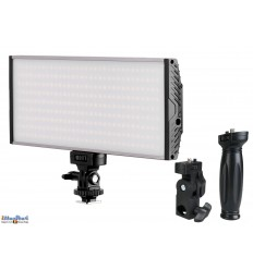 LEDC-30W - 30W LED Studio and Video & Photo on-Camera Light - Bi-Color - 3000 lm - For 2x 7.4V Li-ion battery NP-F550/750/960  / DC 13-17V
