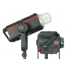 QUANT-1200-PRO - Studio Flash - Digital and stepless variable 1200~37 Ws (Joule) - Fan cooled - Halogen 650W, elfo adaptor - elfo