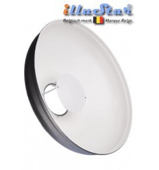 RBD485 - Beauty dish - Reflector Softlight - PRO - White ø48,5cm - illuStar