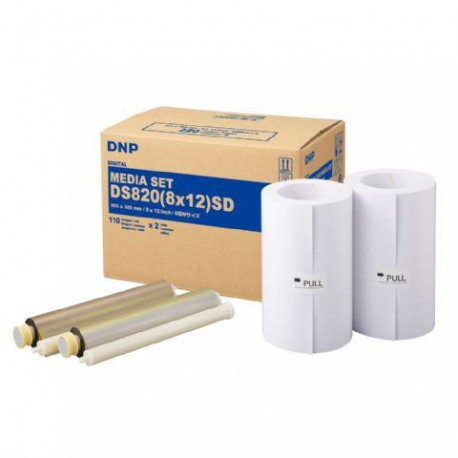 DNP Paper DM812820 2 Rolls with 110 prints 20x30 for DS820
