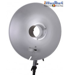 RBDRF47 - Beauty dish - Reflector Soft light ø47cm for Ring Flash RF-400 - illuStar