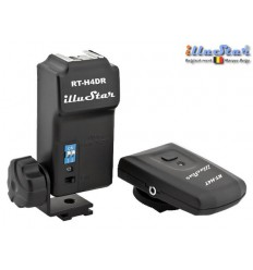 RTH4D - Strobist Radio wave Flash Trigger set (Transmitter + Receiver with Hot-Shoe,  4-channels - illuStar