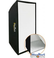 SB6090A144 - Softbox 60x90cm - 360° rotating - foldable - carry bag - illuStar