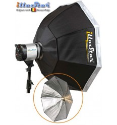 SB95A144 - Softbox ø95cm - Octagonal - 360° rotating - foldable - carry bag - illuStar