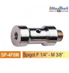 "SP-4F8M - 5/8"" Spigot - 39mm (female 1/4"" - male 3/8"")"