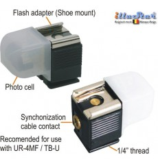 TB01 - Slave sensor - Flash sensitive trigger with both hot shoe and PC Cord connections