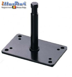 "TFA027B - Bevestigingsplaat voor muur / plafond met 5/8"" spigot 12cm - illuStar"