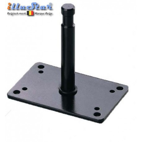 "TFA-027B - Ceiling / wall bracket with spigot 5/8"" 12cm"