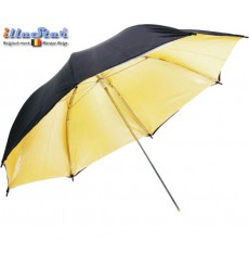 UR100G - Umbrella ø101cm - Gold & Black - illuStar